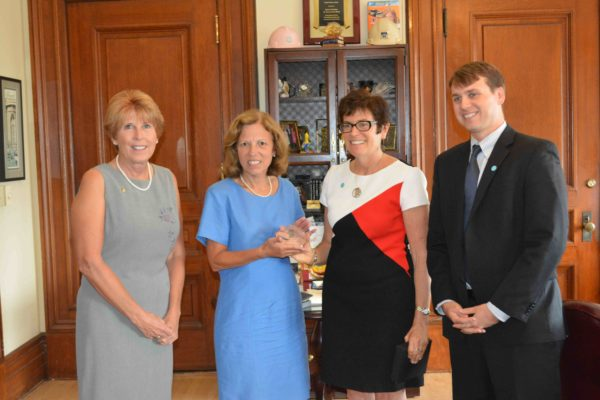Award Presented For Domestic Violence Prevention