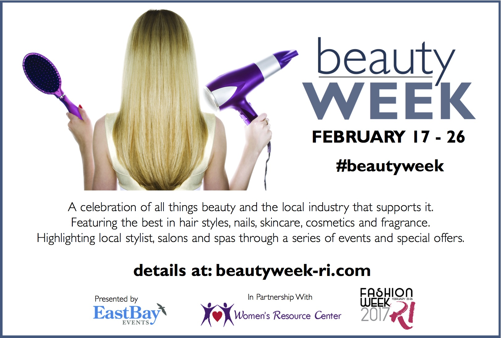 Join Us For A Week Of Indulgence And Pampering